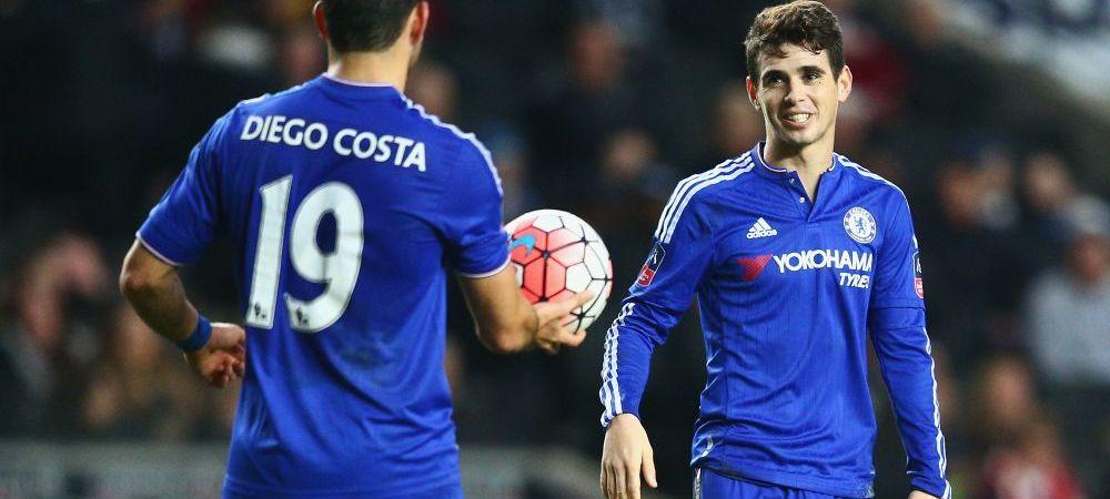 """Se pregateste primul transfer """"monstruos"""" din 2017: Oscar pleaca de la Chelsea, liderul Angliei, pe o suma imensa. Destinatia"""
