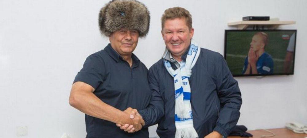 """Mircea Lucescu face o noua colonie braziliana. Primul transfer al iernii la Zenit e o """"perla"""" a Braziliei"""
