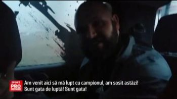 "Englezul Painter l-a provocat pe Sandu Lungu in direct: ""Am venit sa te bat!"" Reactia lui Sandu - VIDEO"