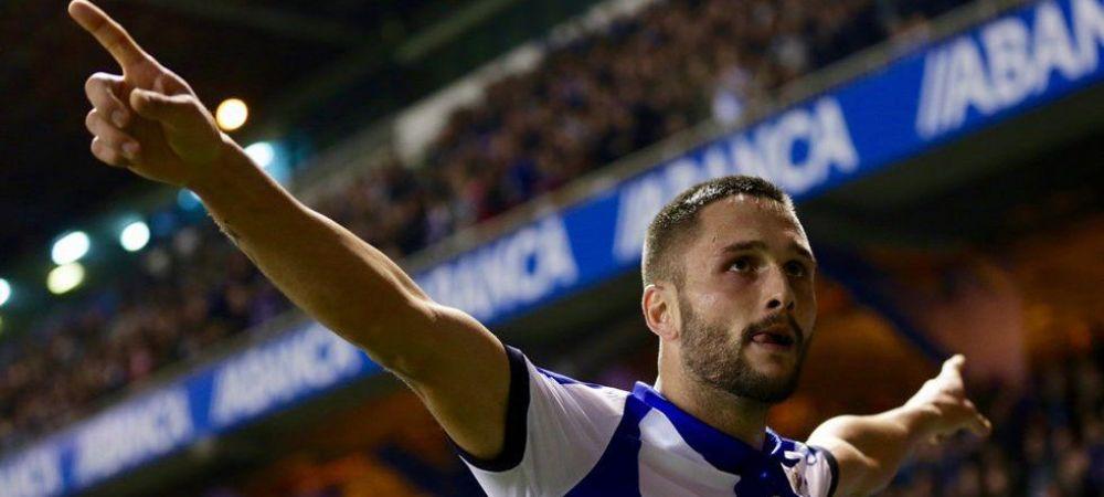 Transformarea FABULOASA a lui Florin Andone in Spania. Cum a schimbat sezonul pentru Deportivo