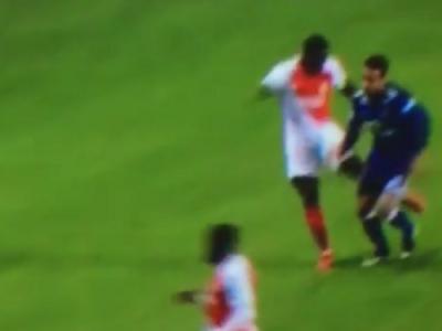 VIDEO: Lovitura ANIMALICA in derby! Pentru ce a luat rosu Mendy in Monaco - Lyon