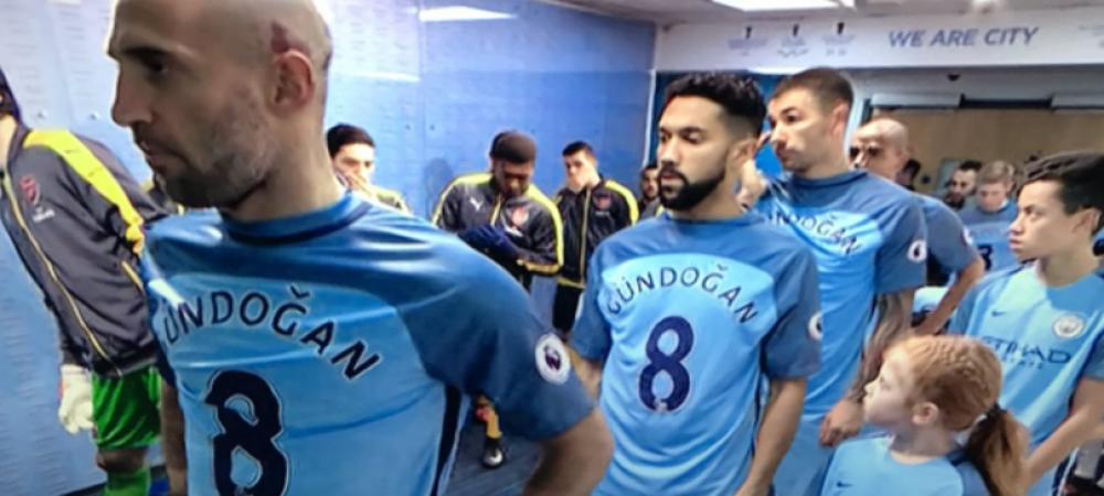 Manchester City, facuta praf dupa ce jucatorii au intrat pe teren cu tricoul lui Gundogan! Motivul incredibil