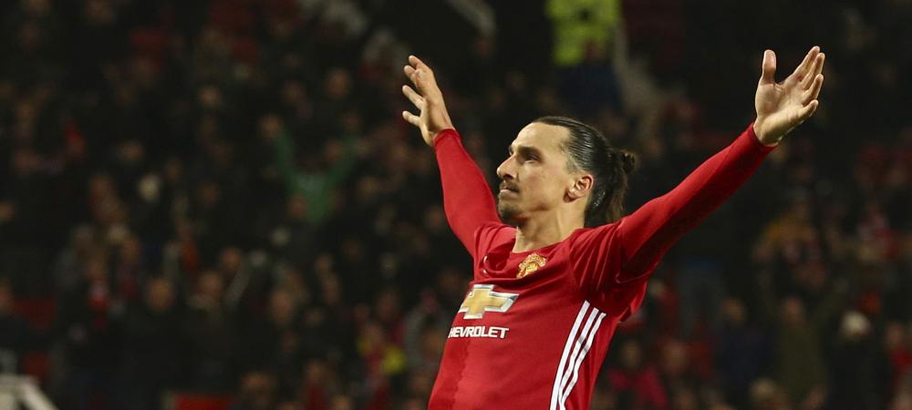 """O noua aroganta a lui Zlatan, dupa ce a ajuns la 10 goluri in 9 meciuri pentru United: """"Sunt ca vinul! Pot sa joc pana la 50 de ani!"""""""