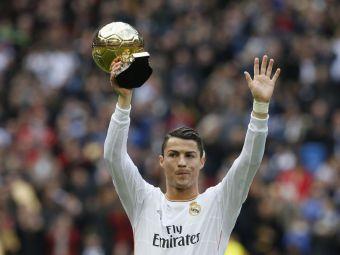 "Cristiano Ronaldo face DUBLA! Spaniolii anunta victoria si la noua gala FIFA, ""The Best!"""