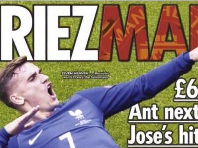 70 milioane de euro pentru un transfer stelar! Tinta uriasa a lui Mourinho pentru Manchester United