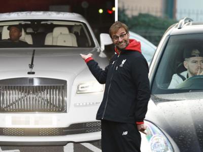 Tipic Jurgen Klopp. Ce masina conduce antrenorul german, in timp ce vedetele lui Liverpool au super bolizi