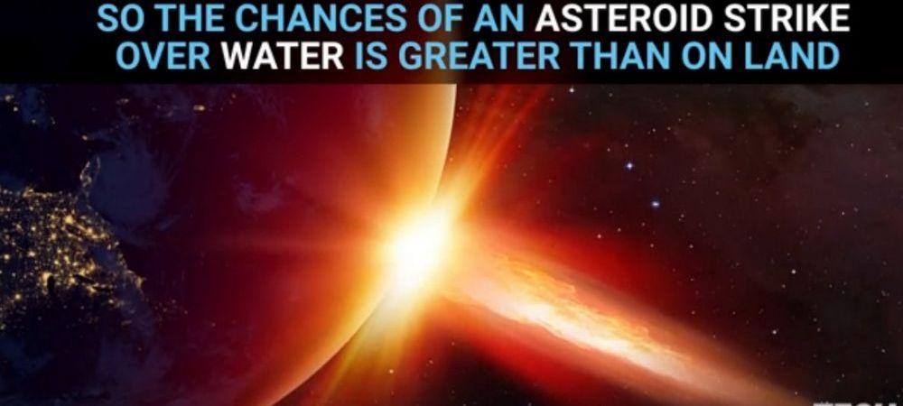 Clipul fantastic care prezinta ce s-a intampla in cazul in care un asteroid ar lovi un ocean! VIDEO