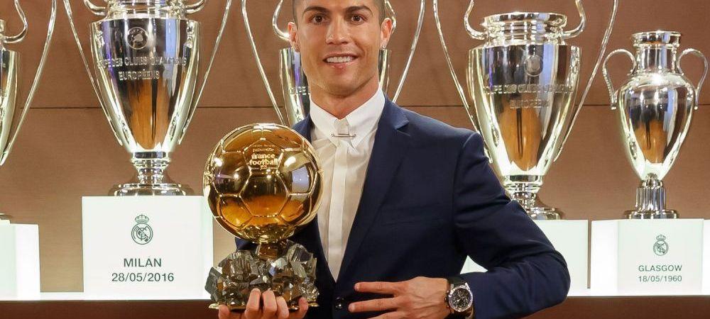 Cristiano Ronaldo, ironizat in familie! Cum a ras sora sa de el dupa ce a luat Balonul de Aur :)
