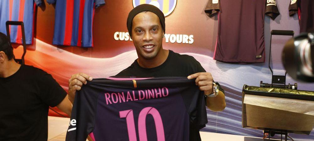 """""""A fost unul dintre cei mai buni din Europa!"""" Ronaldinho dezvaluie urmatoarea tinta de senzatie a Barcelonei"""