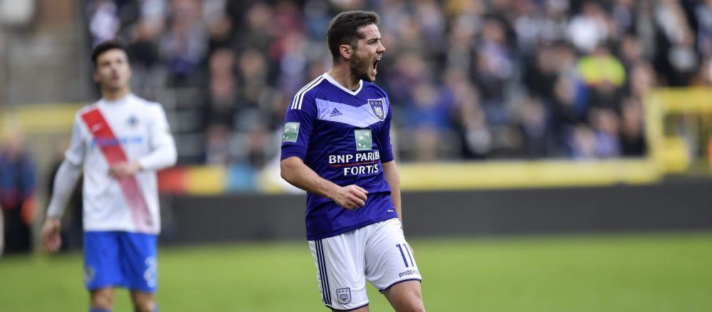 """""""Maratonistul"""" Chipciu i-a ridicat pe fanii lui Anderlecht in picioare! Ce cursa a facut la golul belgienilor"""