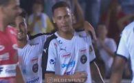 Neymar, implicat intr-un gol fantastic intr-un meci caritabil! Mingea n-a atins pamantul secunde bune VIDEO