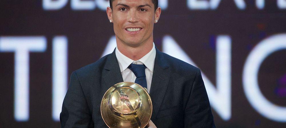 """""""A fost cel mai bun an al meu!"""" Ronaldo i-a luat din nou fata lui Messi pentru un premiu important"""