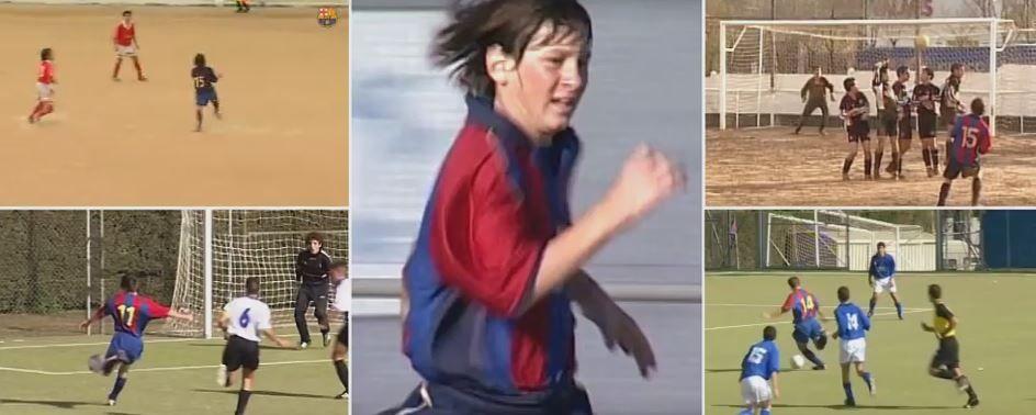 Cadoul de Craciun oferit de Barca fanilor: cele mai tari faze ale lui Messi cand era copil! Ce putea sa faca