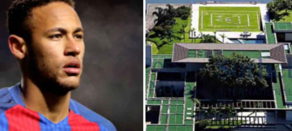 Acasa la Neymar. FABULOS: Cum arata locuinta de 10 milioane de dolari a starului Barcelonei