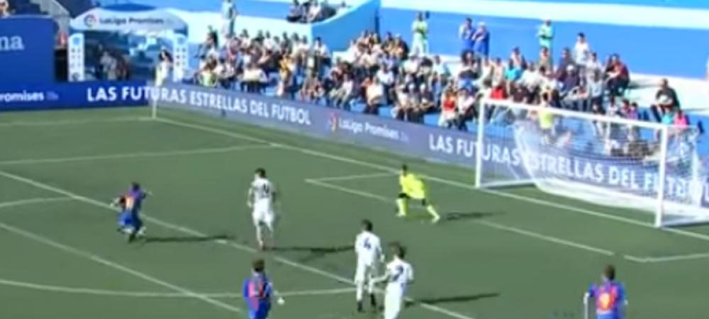 El Clasico s-a jucat din nou in aceasta saptamana. Juniorii Barcelonei au dat gol in secunda 8 si au castigat