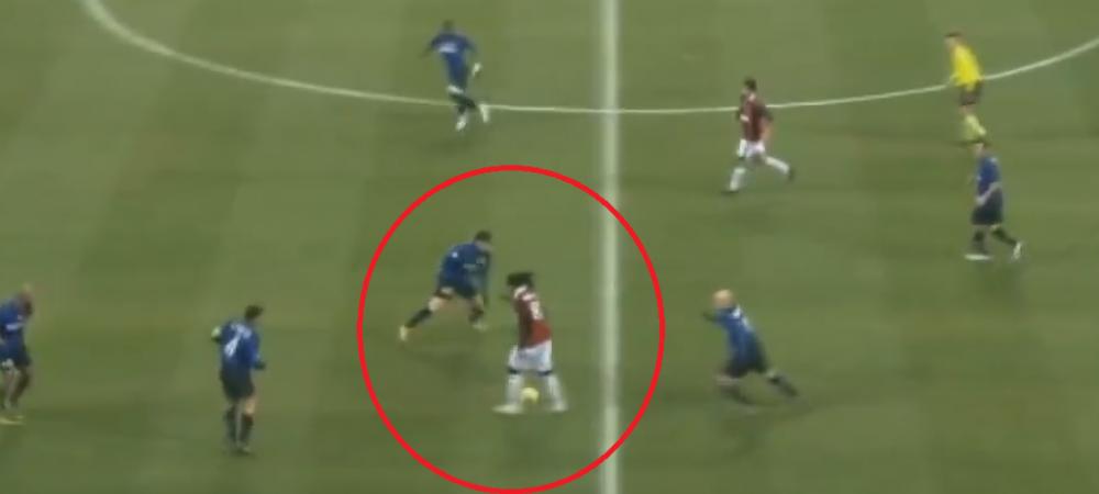 Driblingurile magice din cariera lui Ronaldinho. Cum umileste jucatori legendari, inclusiv pe Messi :)) VIDEO