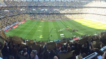 Coregrafie SUPERBA pentru Ronaldo! Cristiano a adus 'Baloanele de Aur' pe Bernabeu la meciul cu Granada