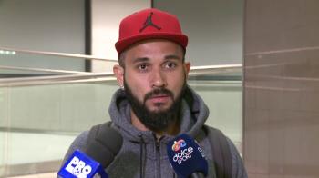 """Primul """"SOC"""" trait de Junior Morais la revenirea in Romania, dupa ce a anuntat ca e jucatorul Stelei :)"""