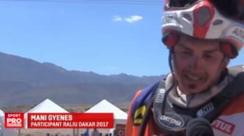 Gyenes a avut parte de cea mai infernala etapa din Dakar: a pilotat 7 ore in conditii extrem de dificile