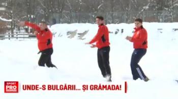 Campionii nationali la oina au declansat Marea Bulgareala! Antrenament cu bulgari in loc de mingi. VIDEO