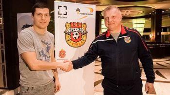 OFICIAL | Bourceanu, prezentat la noua echipa. Mijlocasul poate juca in Rusia pana la 34 de ani