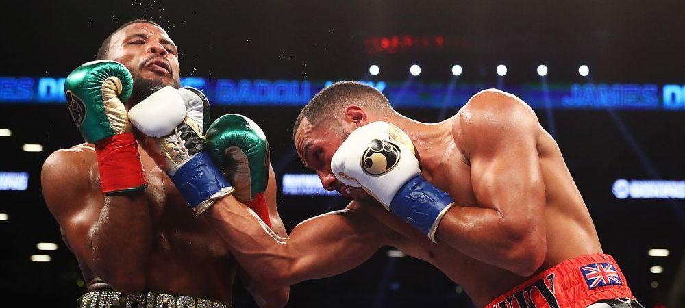 I-a scos dintii in ring! Imagini incredibile la finalul luptei lui Badou Jack cu DeGale! Cum aratau cei doi