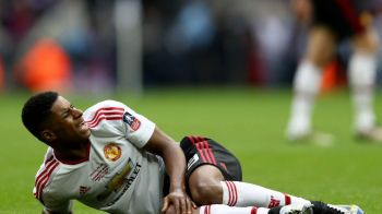 DAUNA TOTALA la masina! Accident horror pe sosea pentru Rashford, pustiul minune al lui Manchester United!