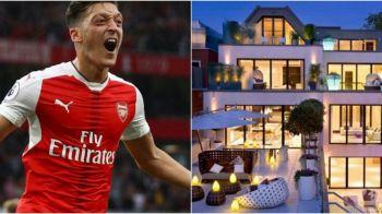 Ozil s-a mutat intr-o locuinta incredibila de 35 de milioane de euro. Cum arata casa din Londra a mijlocasului