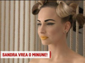 "Sandra Izbasa s-a costumat in ""Alice in Tara Minunilor: ""Adevarata minune ar fi sa luam medalii la Europene"""