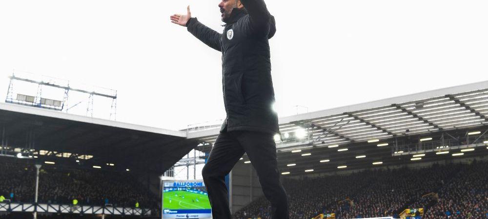 SENZATIONAL! Ce a facut Guardiola in vestiar dupa infragerea umilitoare cu Everton