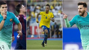 Atac la Gheata de Aur: Messi si Suarez au urcat in TOP 3 aseara; Aubameyang, aflat la Cupa Africii, ramane lider