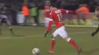 PASA SUPERBA de gol pentru Razvan Marin in minutul 3 al primului meci ca titular la Standard Liege! VIDEO