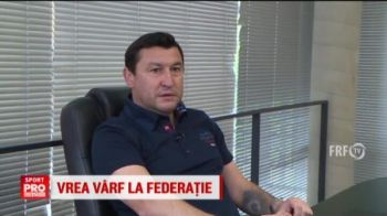 Viorel Moldovan vrea sa candideze la sefia FRF! Fostul atacant cere sprijinul Generatiei de Aur. VIDEO