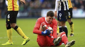 Watford vrea sa transfere portar! Cat de GRAVA e accidentarea lui Pantilimon