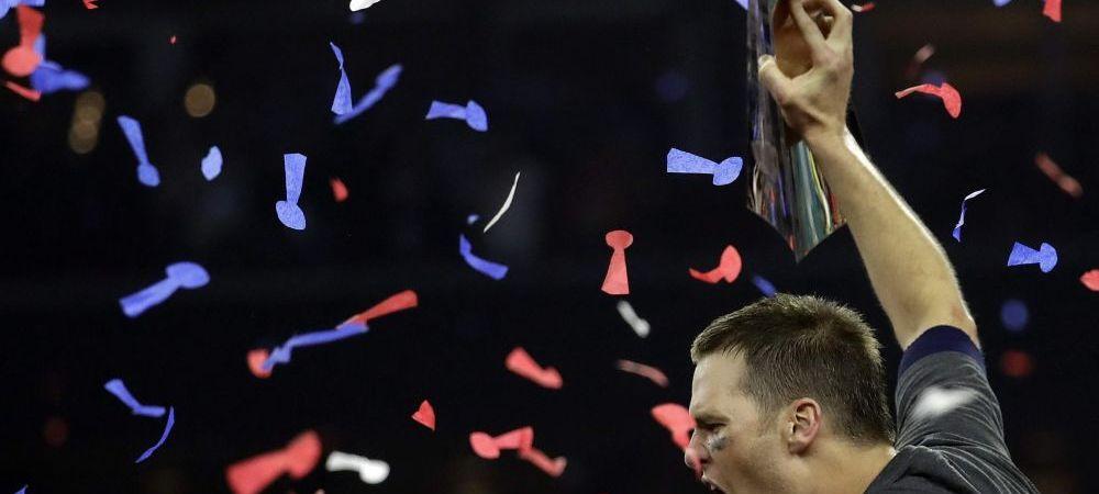VIDEO Show TOTAL la Super Bowl! Patriots, a cincea victorie din istorie! Tom Brady, din nou MVP!