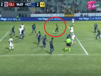 Dileala totala! El Clasico din Honduras s-a incheiat cu un gol marcat de un suporter in min 94! Si s-a pus! :)