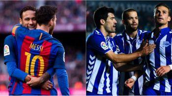 """Barcelona, impotriva echipei care a """"ucis"""" Realului lui Ronaldo. Alaves s-a calificat aseara in finala Cupei Spaniei"""