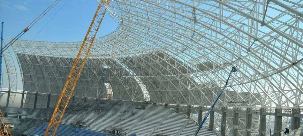"Noul stadion al Craiovei va fi unic in Romania. Peluza ""CAMELEON"", inovatia pregatita de constructori - FOTO"