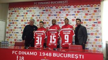 "Dinamo si-a prezentat achizitiile iernii, dar mai pregateste o mutare. Andone l-a ""botezat"" pe Rivaldinho :)"