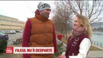 Fileul nu-i desparte | Povestea de dragoste a unui cuplu de ucraineni care joaca volei la Cluj