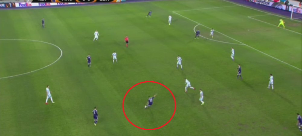 Stanciu, doua pase de gol in Anderlecht 2-0 Zenit. GOL Keseru! Vezi toate rezultatele din Europa League