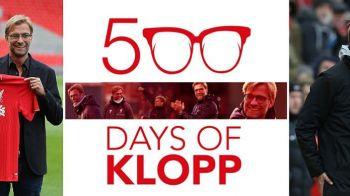 """""""500 de zile pentru Klopp la Liverpool"""" CLIPUL SUPERB lansat astazi de club. VIDEO"""