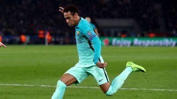 Gestul lui Neymar dupa infrangerea cu PSG! Ce a facut starul Barcei cand a aflat de drama unui coleg