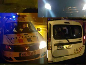 """Zicu a pozat masina politiei si a pus-o pe Facebook: """"Sa-mi spuneti voi daca e normal ce se intampla!"""" FOTO"""