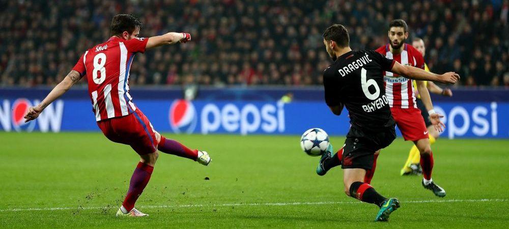 VIDEO Falcao vs Saul! Reusita SENZATIONALA a jucatorului de la Atletico in meciul cu Leverkusen
