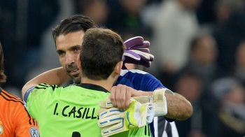 Intalnirea colosilor: Casillas si Buffon, din nou fata in fata. Ce i-a spus italianul la finalul meciului