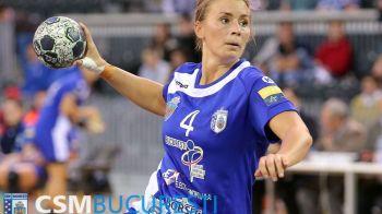 Larvik 35-33 CSM Bucuresti. Campioana Romaniei si a Europei pierde un meci important in lupta pentru locul 2