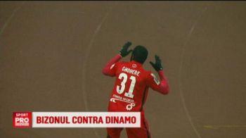 """""""Daca dau gol, sigur ca o sa ma bucur"""". Mesajul lui Gnohere inaintea returului Steaua - Dinamo, din Cupa Ligii"""