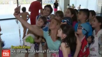 "Camelia Potec va antrena 45 de copii care viseaza sa devina campioni: ""Te-am vazut pe YouTube, castigai!"""