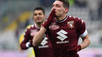 """Cine-l vrea, sa dea 150 milioane"".Belotti, noul Shevchenko: cel mai rapid hat trick in Serie A in ultimii 17 ani"